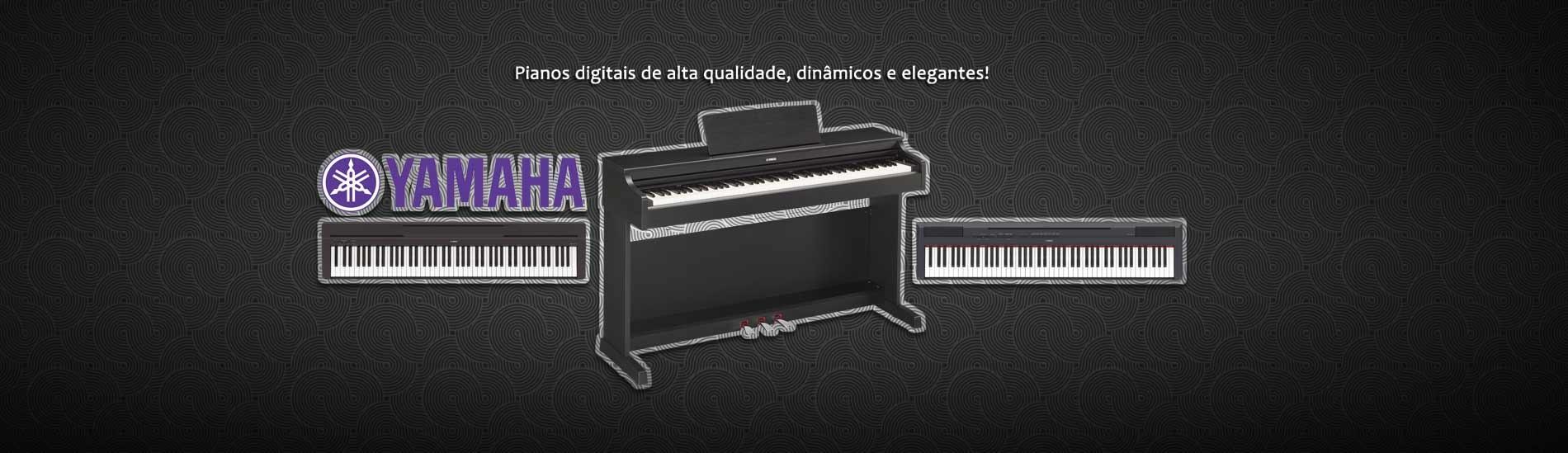 Pianos digitais Yamaha