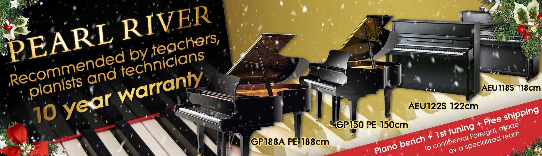 Pearl River Pianos - Recommended by teachers, pianists and technicians!
