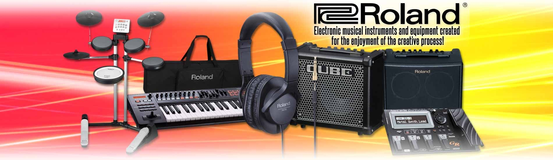 Roland - Electronic musical instruments and equipments