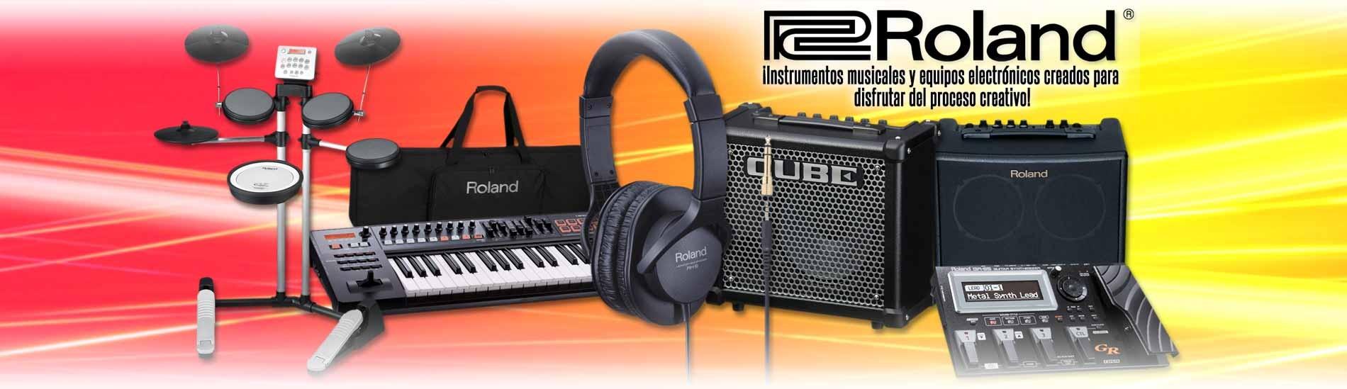 Roland - Instrumentos musicales y equipos electrónicos