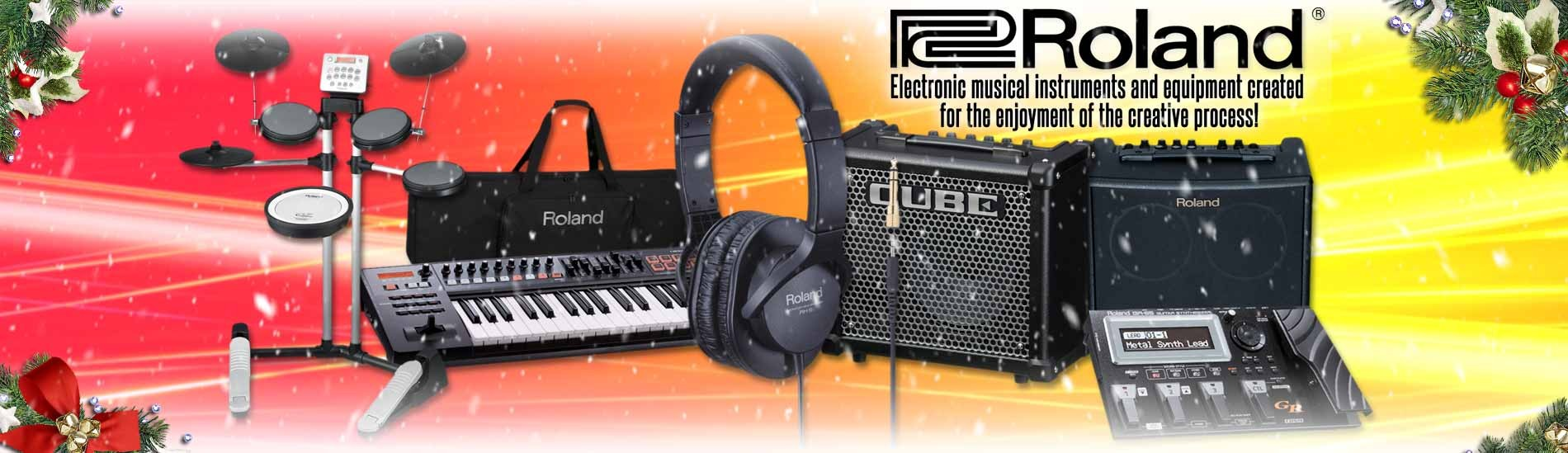 Roland - Electronic Musical Instruments and Equipment Created for Your Enjoyment