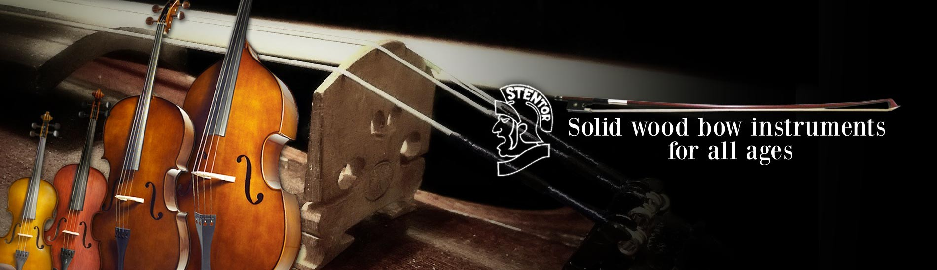Stentor - Solid wood bow instruments for all ages