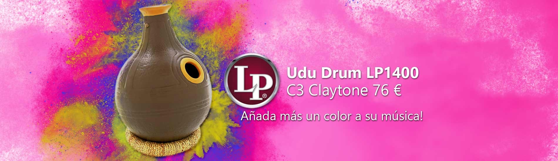 Udu Drum LP LP1400 C3 Claytone