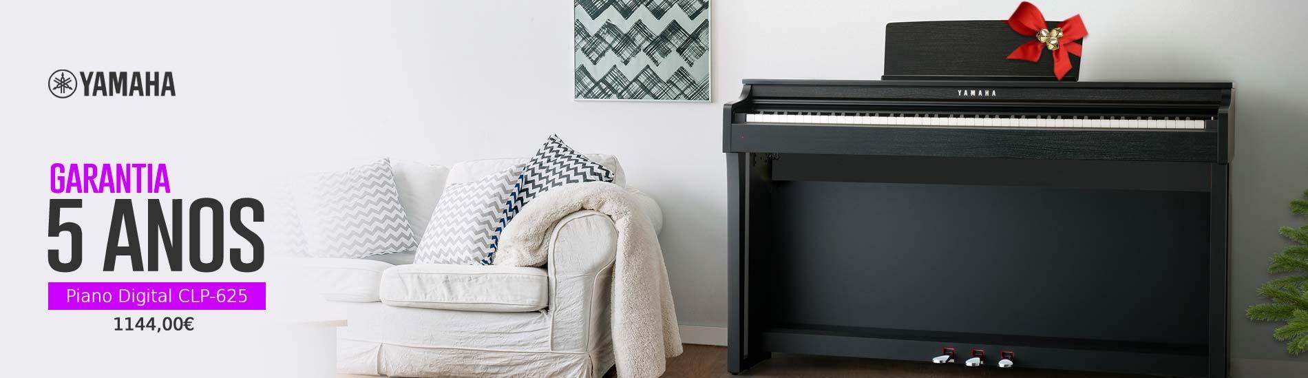 5 Anos de Garantia Piano Digital CLP-625